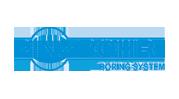 Pinzbohr boring system